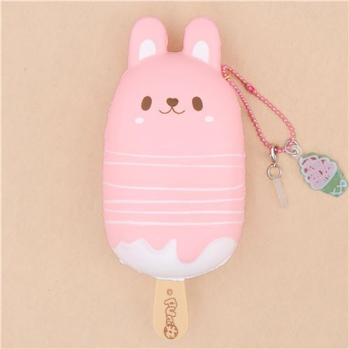 scented bunny rabbit ice pop squishy by Puni Maru