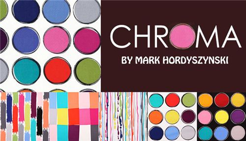 We carry Mark Hordyszynski's fun collection Chroma on modes4u.com