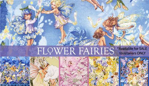 Check out the beautifull collection Flower Fairies Fabrics from Michael Miller at modes4u.com