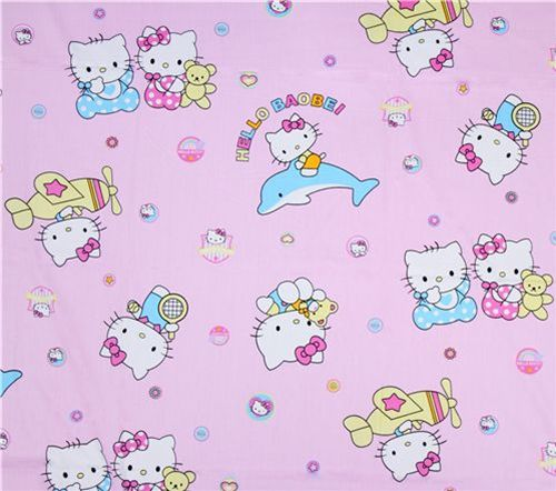 New Hello Kitty fabrics 4