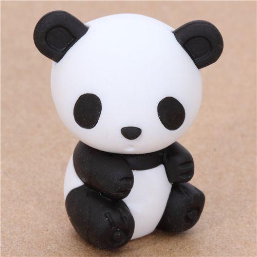 cute Japanese panda eraser from Iwako