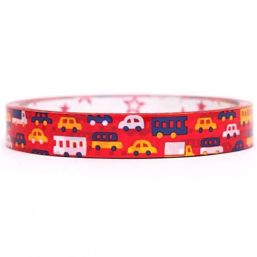 red car vehicle deco tape sticky tape by Mind Wave