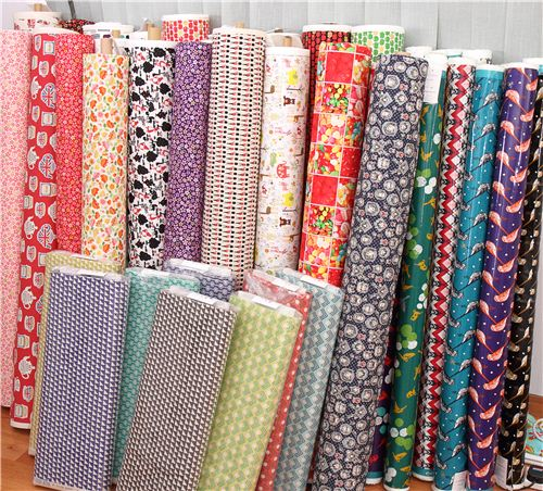 We have pretty new Kokka fabrics in our shop