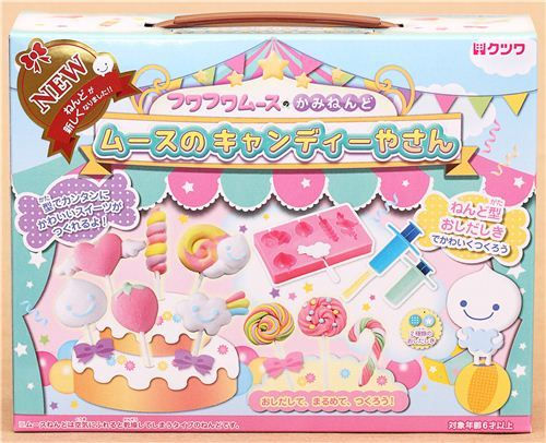 DIY paper mousse clay cake pop cake deco cake Japan
