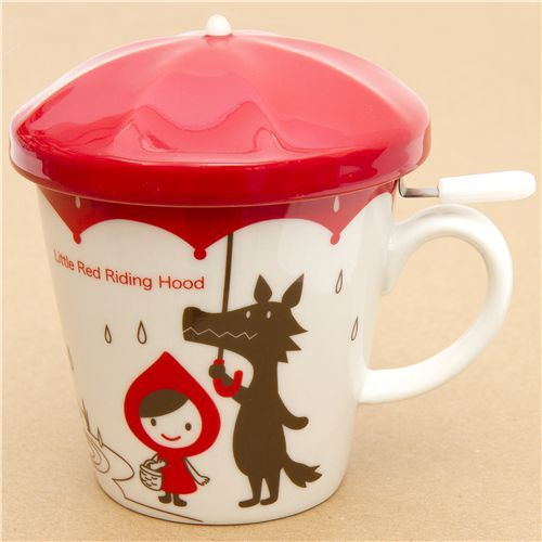 Little Red Riding Hood cup wolf Otogicco Japan