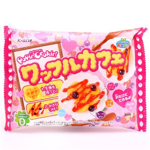 Waffle pastry Kit Popin' Cookin' DIY candy Kracie