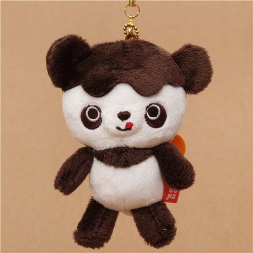 Chocopa bear with chocolate cover plush charm San-X