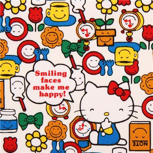 Hello Kitty takes to time to smile for her flower friends every day and you harvest what you plant