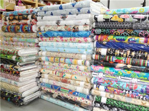 This is just a tiny part of the new Timeless Treasures fabrics we got