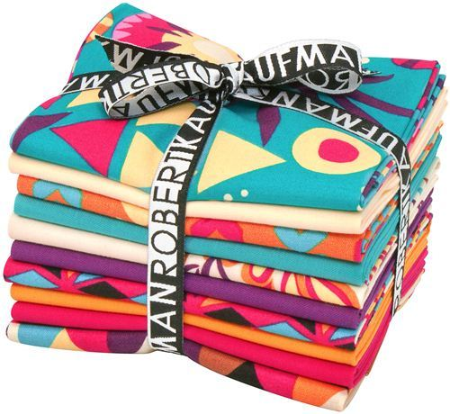 Fat Quarter fabric bundle Sierra Summer by Robert Kaufman