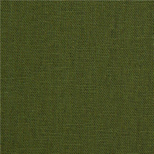 green echino canvas fabric from Japan