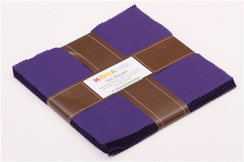 fabric bundle purple Ten-Square Robert Kaufman