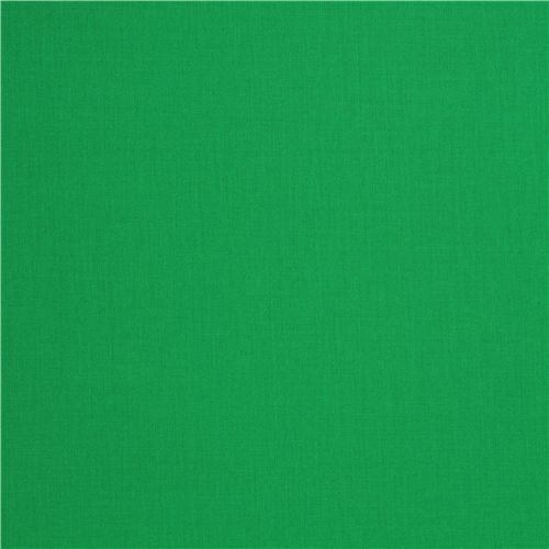 solid dark green fabric Robert Kaufman USA Clover