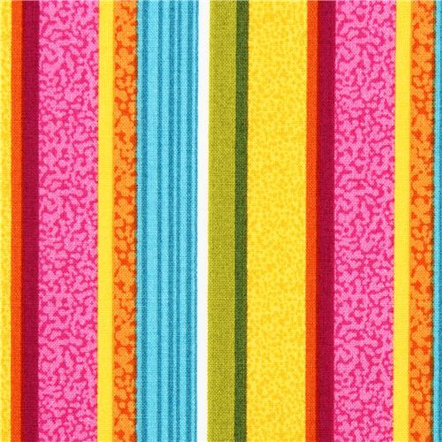 colorful stripes fabric Flamingo Fling Northcott Studio