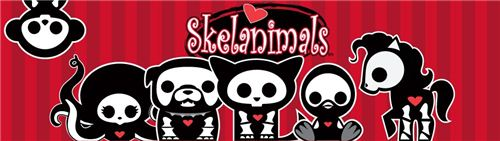 We now have cute Skelanimals fabrics on modes4u.com