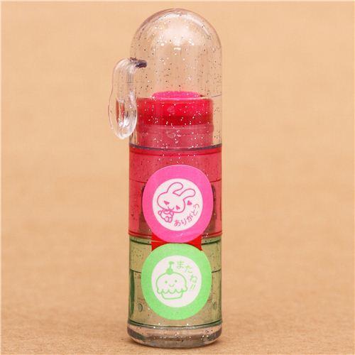 cute rabbit cupcake stamp pen mini stamp set