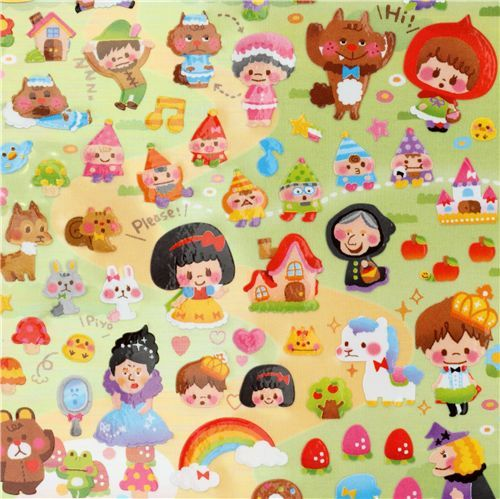 cute Fairy Tale sticker kawaii from Japan