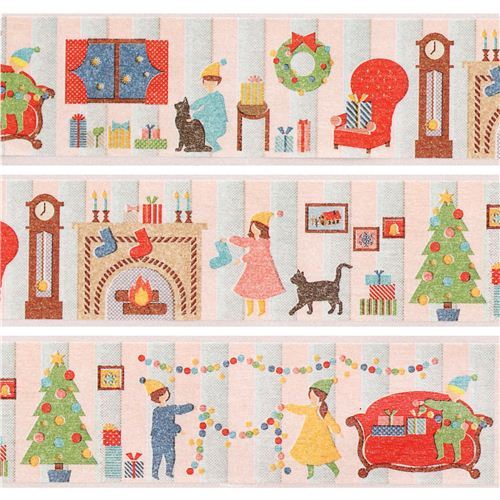 Christmas Living Room Christmas mt Washi deco tape gold metallic