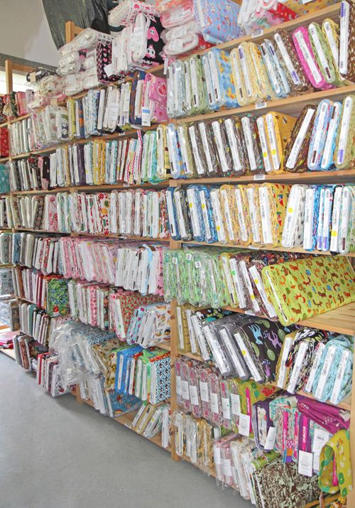 this is just a part of our fabrics selection