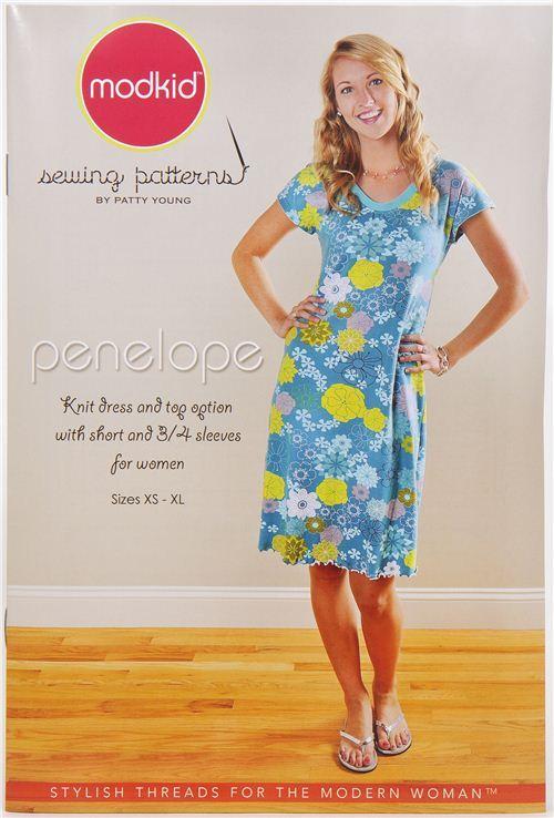Modkid women's dress & top sewing pattern Penelope