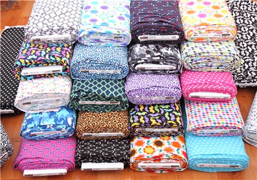 We have many cool new knit fabrics by Robert Kaufman