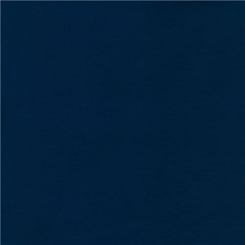 navy blue laminate fabric by Robert Kaufman Kona Cotton Slicker