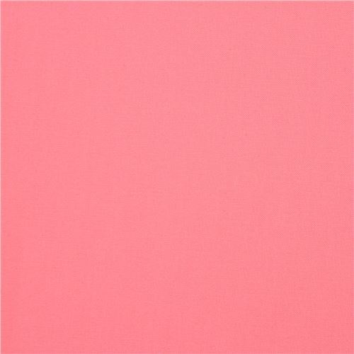 solid pink Kona fabric Robert Kaufman USA Pink Flamingo