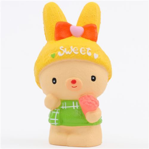 winter sweet bunny rabbit squishy by Kiibru