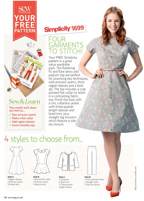 This dress is made with our birch knot dot organic fabric.
