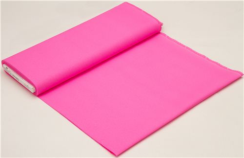 neon pink Michael Miller cotton fabric
