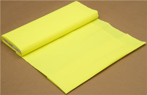 neon yellow Michael Miller cotton fabric