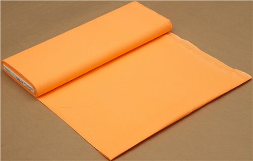 neon orange Michael Miller cotton fabric