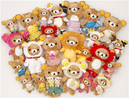 The Rilakkuma zodiac sign collection is available on modes4u.com