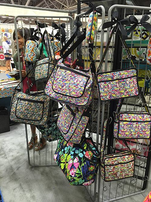 We all love handbags. Especially those made from our favorite fabrics.