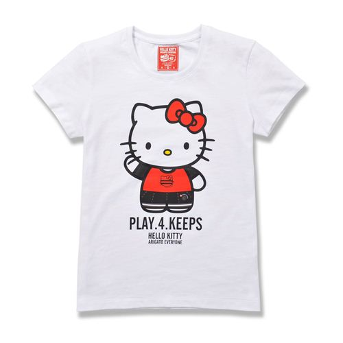 white Hello Kitty T-Shirt