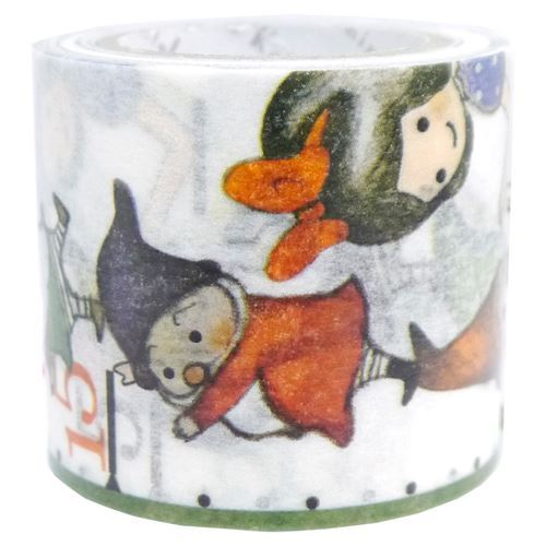 Snow White dwarfs number Washi Masking Tape deco tape Shinzi Katoh
