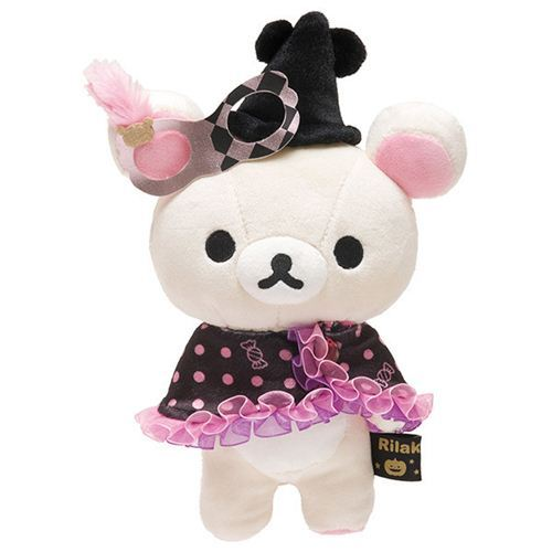 Rilakkuma Halloween Party white bear plush toy San-X