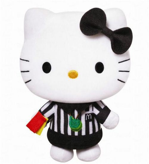 McDonald's K League Hello Kitty referee plush