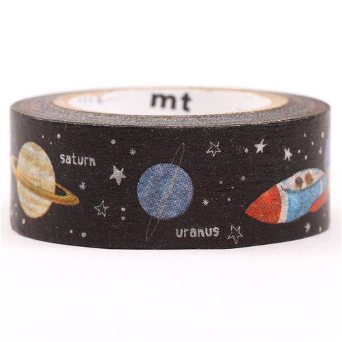galaxy space universe mt Washi Masking Tape deco tape