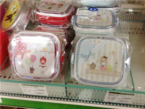 Very kawaii fairy tale bento boxes