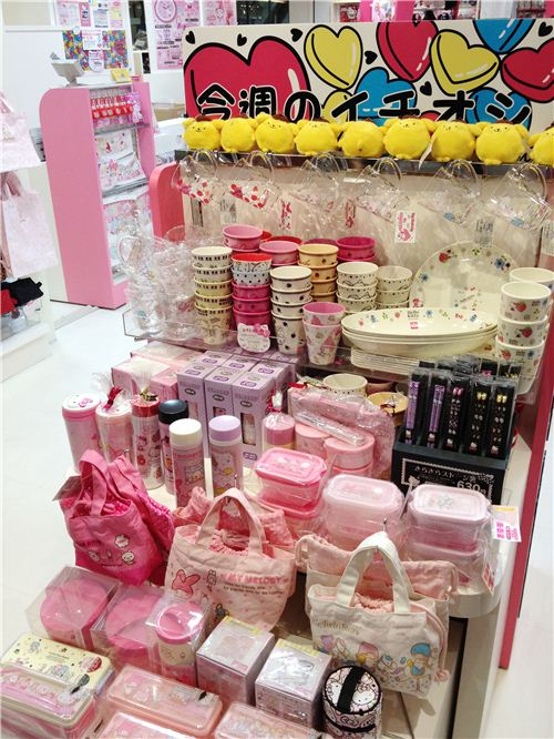 Bento accessories with the Sanrio characters