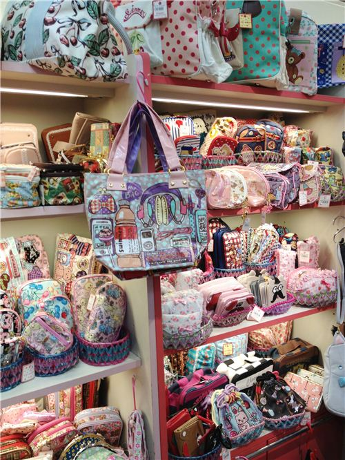 Very cute walltets, bags, pouches, pencil cases and lunch bags