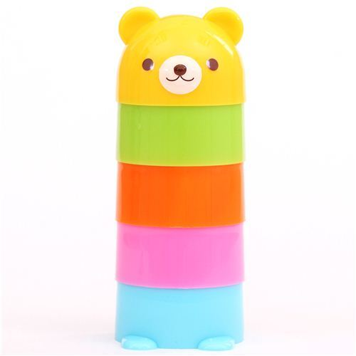 bear tower Bento sandwich food cutters