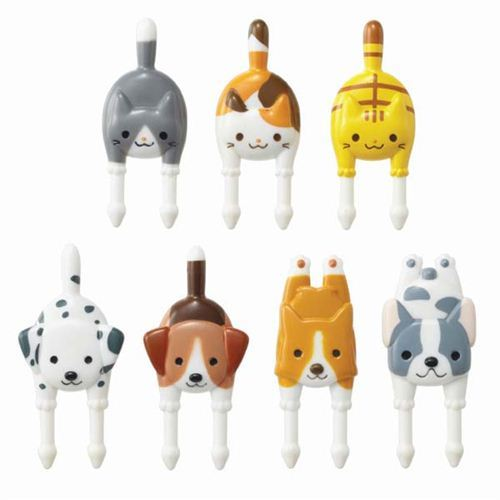 dog cat food picks forks for Bento Box Lunch Box