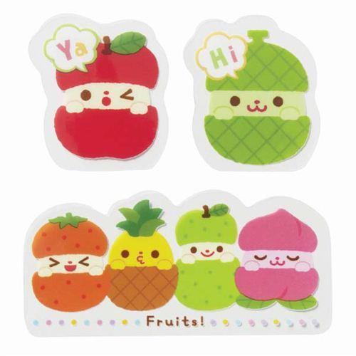 funny fruit Baran divider sheets for Bento Box Lunch Box