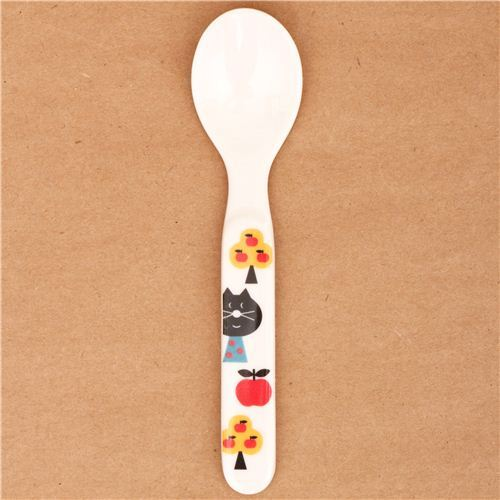 kawaii cat ladybug spoon cutlery from Japan