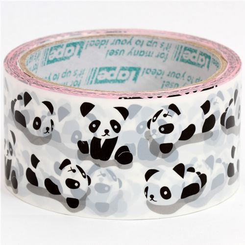 big cute Deco Tape panda bears Prime Nakamura