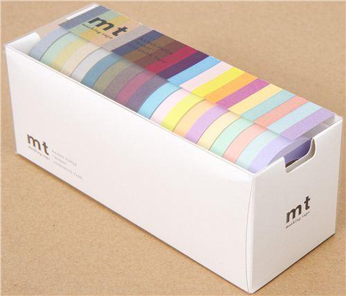 fine mt Washi Masking Tape deco tape set 20pcs