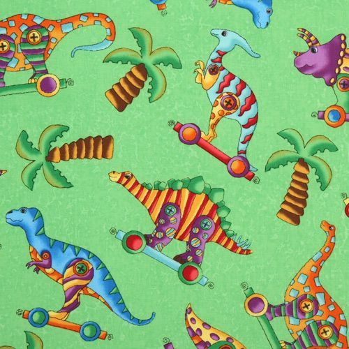 Us designer fabric by clothworks textile modes blog for Dinosaur fabric