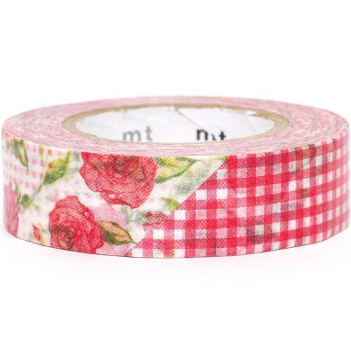 mt Washi Masking Tape deco tape with flowers & pattern